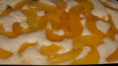 Photo of ☺ Lazy Peach Cobbler Recipe
