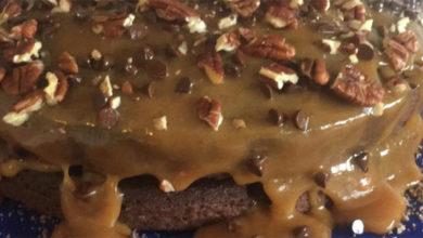 Photo of Chocolate Turtle Cake Recipe