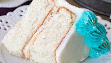 Photo of 💙 Best White Cake Recipe 🐣
