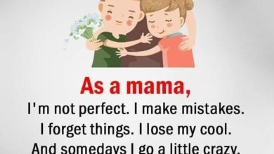 Photo of As a mama, i am not perfect..