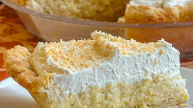 Photo of ☀ Coconut Cream Pie Recipe 🐣