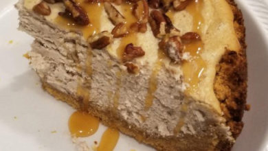 Photo of 💛 Butter Pecan Cheesecake Recipe 😍
