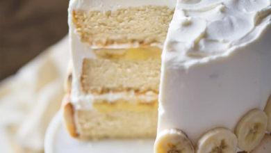 Photo of 🍰 Banana Pudding Layer Cake 🐥