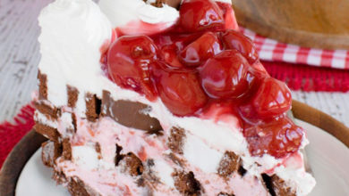 Photo of 🍒No Bake Cherry Swiss Rolls Cake😋