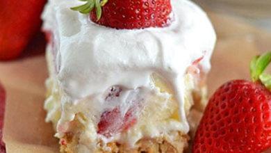 Photo of 🍓Strawberry Cheesecake Lush🍰