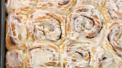 Photo of 💛Cake Mix Cinnamon Rolls🍥