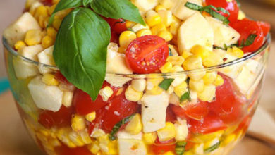 Photo of 🌽Summer Corn Salad🍅