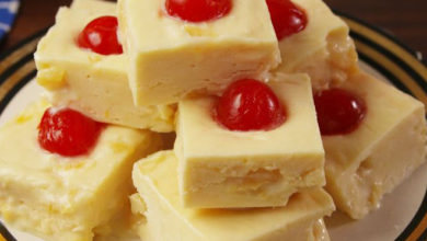 Photo of 🍍Pineapple Upside Down Fudge😻