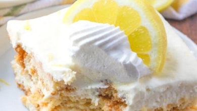 Photo of 💛No-Bake Lemon Icebox Cake🍋