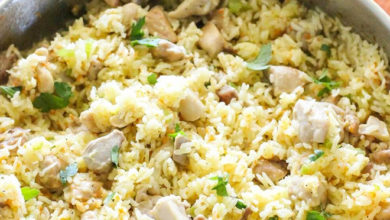 Photo of 🍙One-pot Chicken & Rice Recipe🐔