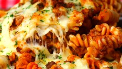 Photo of 💛Garlic Bread Pasta Pie☺️