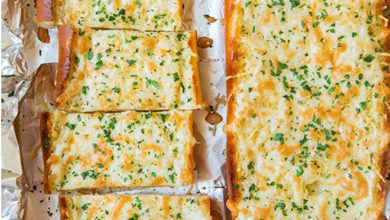 Photo of 🧄Cheesy Garlic Bread🥖