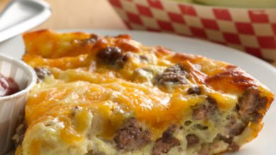 Photo of ⭐Impossibly Easy Cheeseburger Pie☺️