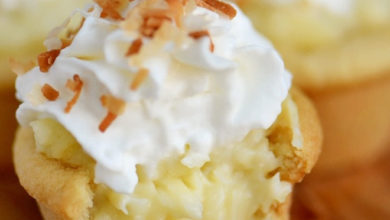 Photo of 🥥Coconut Cream Pie Cookie Cups🧁