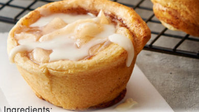 Photo of ☺️2-Ingredient Apple Pie Cups👍
