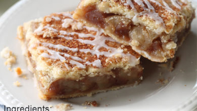 Photo of 🍏Apple Pie Bars😮