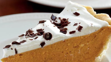 Photo of 🎃Spiced Pumpkin Chiffon Pie☕
