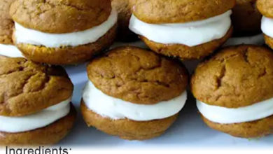 Photo of 🎃Pumpkin Whoopie Pies☕