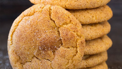 Photo of ☕Pumpkin Snickerdoodles🎃